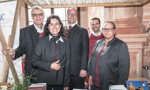 Hans und Rosemarie Rupp; Christian Kling, Gabriele Preisinger (Römerland Carnuntum)